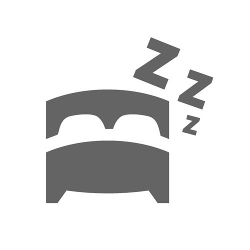 materac nawierzchniowy FLUFFY sleep o'clock 100x200