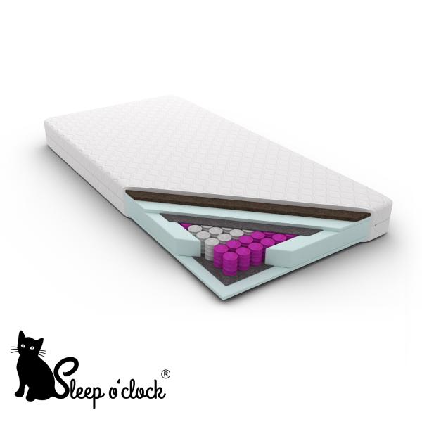 materac kieszeniowy pocket EDUARDO sleep o'clock 80x200