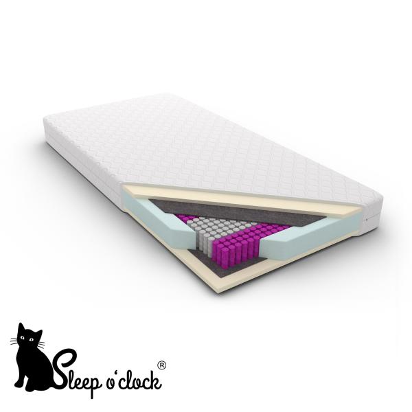 materac kieszeniowy luxpocket CARLOS sleep o'clock 90x200