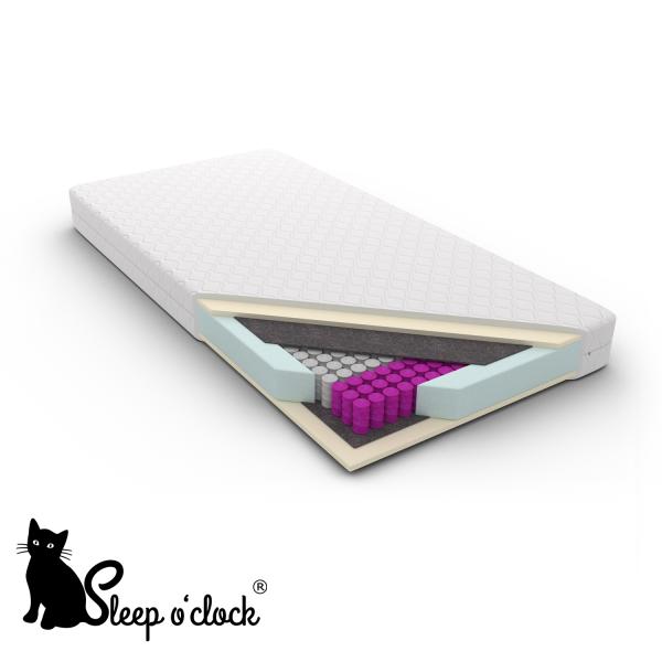 materac kieszeniowy multipocket PAOLA sleep o'clock 100x200